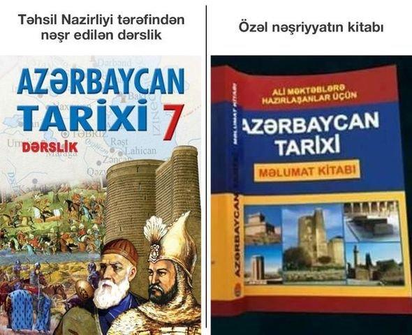 """Təhsil Nazirliyindən """"Azərbaycan tarixi"""" dərsliyi ilə bağlı iddialar haqqında AÇIQLAMA - FOTO"""