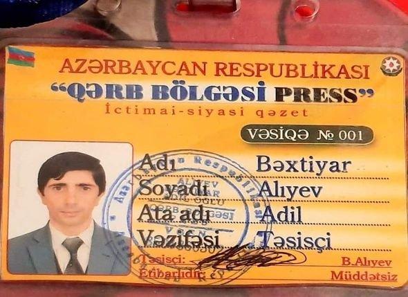Şəmkirdə jurnalist şantaja görə öldürüldü - FOTO